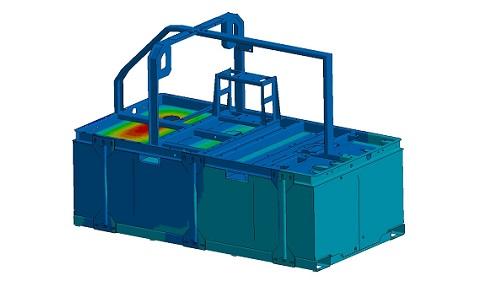 fem analyse watertank hih engineering
