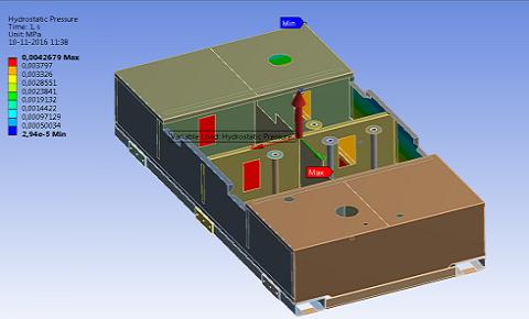 Fem analyse vloeistoftanks hih engineering for Fem analyse